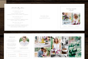 Photographer Price List Trifold