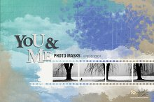 You and Me Photo Masks