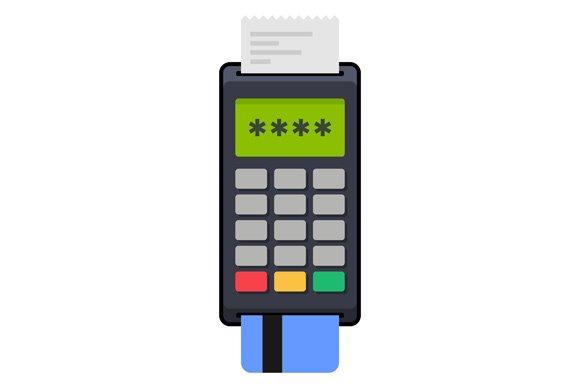 Payment POS Terminal With Card