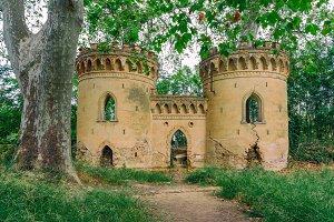 Ruined palace IV
