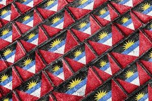 Antigua y Barbuda Flag Pattern
