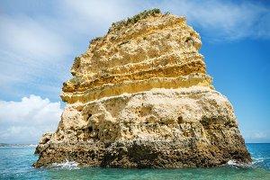 coastline landscape in Algarve