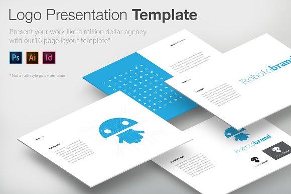 logo presentation template logo templates creative market