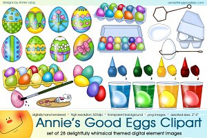 Annie's Good Eggs Clipart