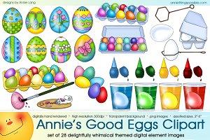 Annie's Good Eggs Clipart