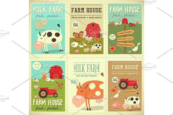 Farm House Posters