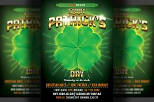 St. Patrick's Party Flyer Template