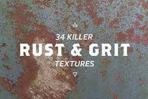 34 Killer Rust and Grunge Textures