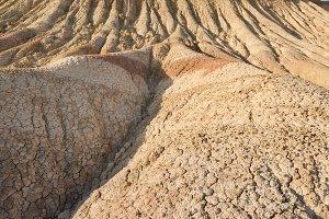 Bardenas Reales desertic landscape