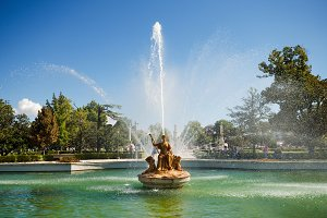 Fountains of Aranjuez Royal palace