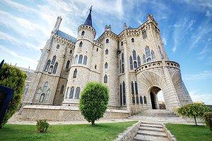 Episcopal Palace, in Astorga, Leon.