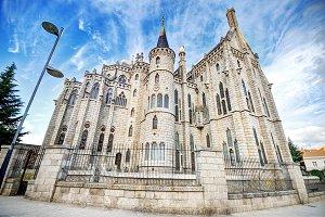 Episcopal Palace, in Astorga, Leon