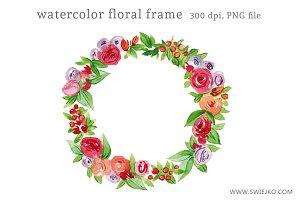 Floral Frame Clipart