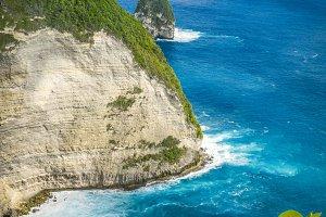 Paluang Cliff on Nusa Penida Island, Bali, Indonesia