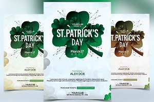 St. Patrick's Day - PSD Flyer