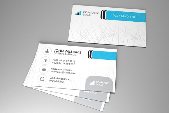 Corporate business card vol4 business card templates creative corporate business card vol4 business cards reheart Images