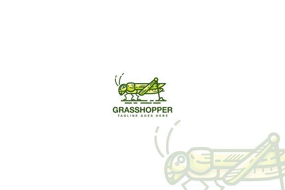 Grasshopper Logo Template