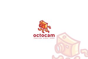 Octocam Logo Template