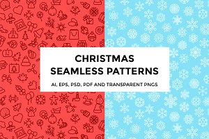 Christmas and Snowflakes Patterns