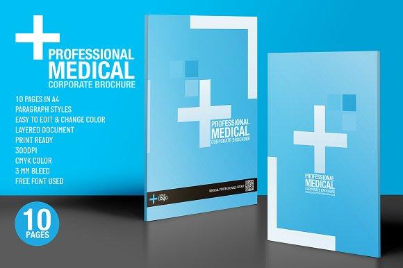 professional medical brochure design brochure templates creative