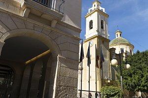 Vista de la Parroquia San Vicente