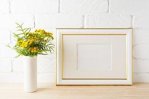 Landscape frame mockup