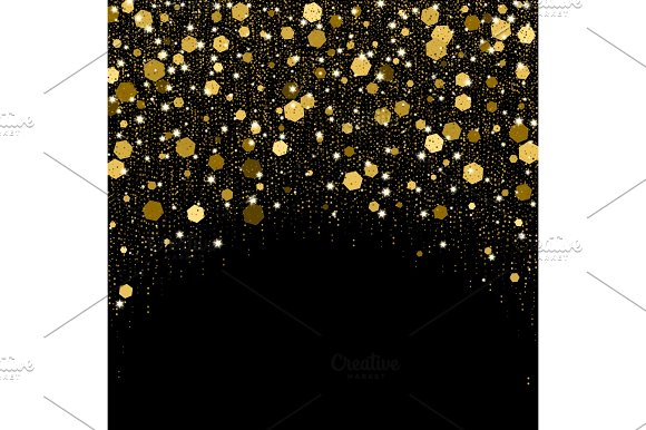 Luxurious greeting card with golden sparkles black shimmer luxurious greeting card with golden sparkles black shimmer background textures m4hsunfo