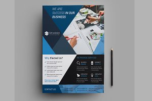 Corporate Flyer Template-V511