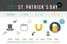 St. Patrick's Day - Icon't Event