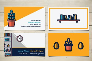 Interior Design Cards