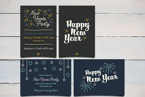 New Years Invites