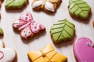 Sweet holiday gingerbreads