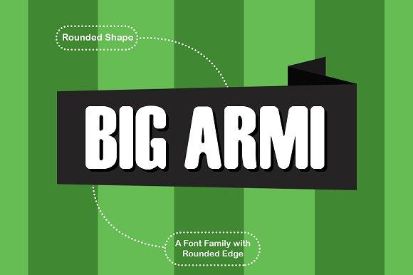 Big Armi Font