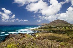 South coast of Oahu, Hawaii