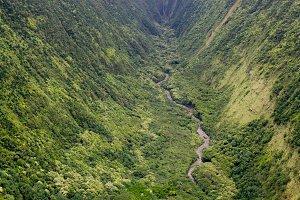 Honopue Valley, Big Island, Hawaii