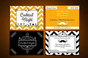 Cocktail Night Invite