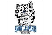 snow leopard mascot