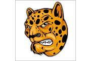 Angry Leopard mascot