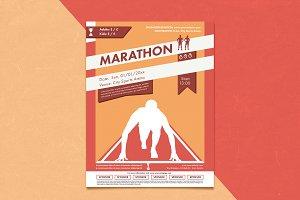 Marathon Poster