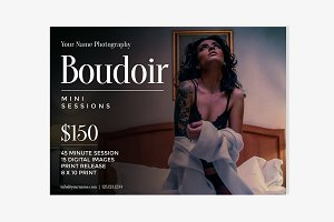 Boudoir Photography Booking Ad