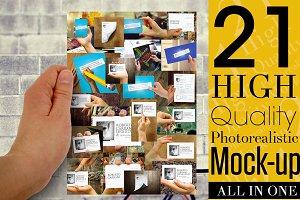21 Multipurpose Branding Mockups