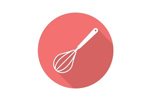 Whisk icon. Vector