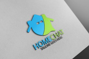 Home Chat Logo