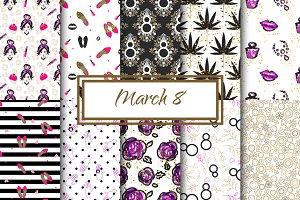 March 8 Feminine patterns