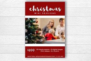 Christmas Photography Marketing Ad