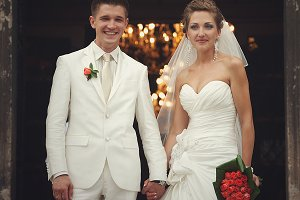 Stunning wedding couple