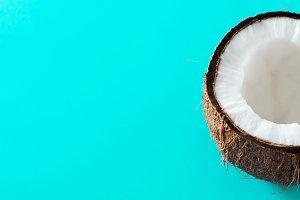 Half coconut