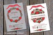 Christmas poinsettia Wreath,group2