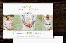 Photographer Mini Session Template