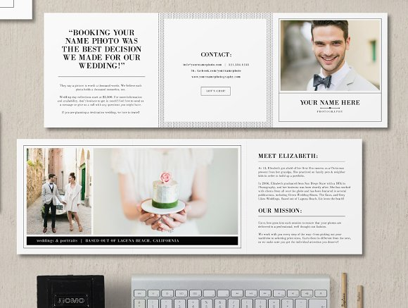 Welcome Brochure Template Brochure Templates Creative Market